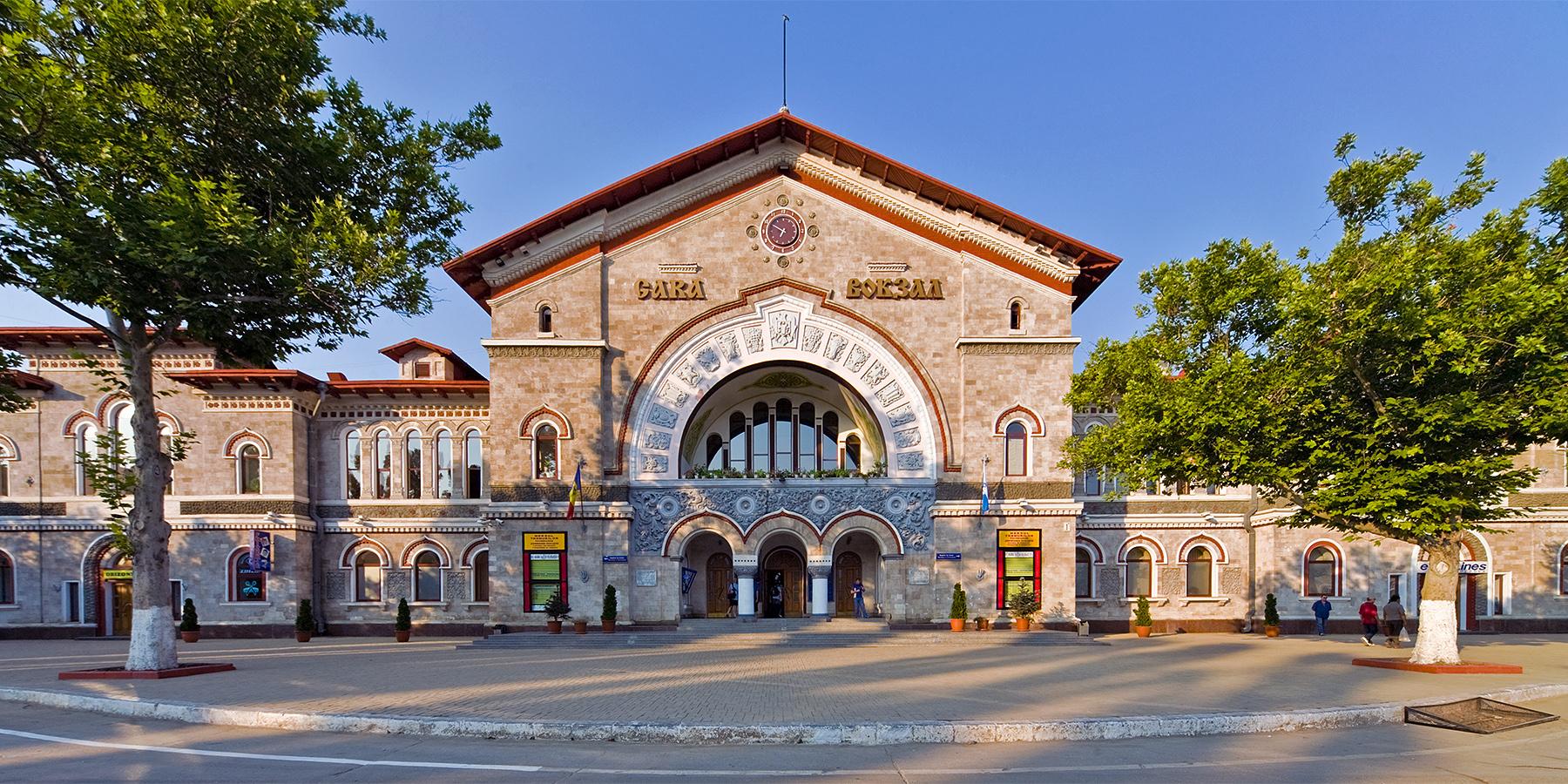 Hauptbahnhof Kischinau