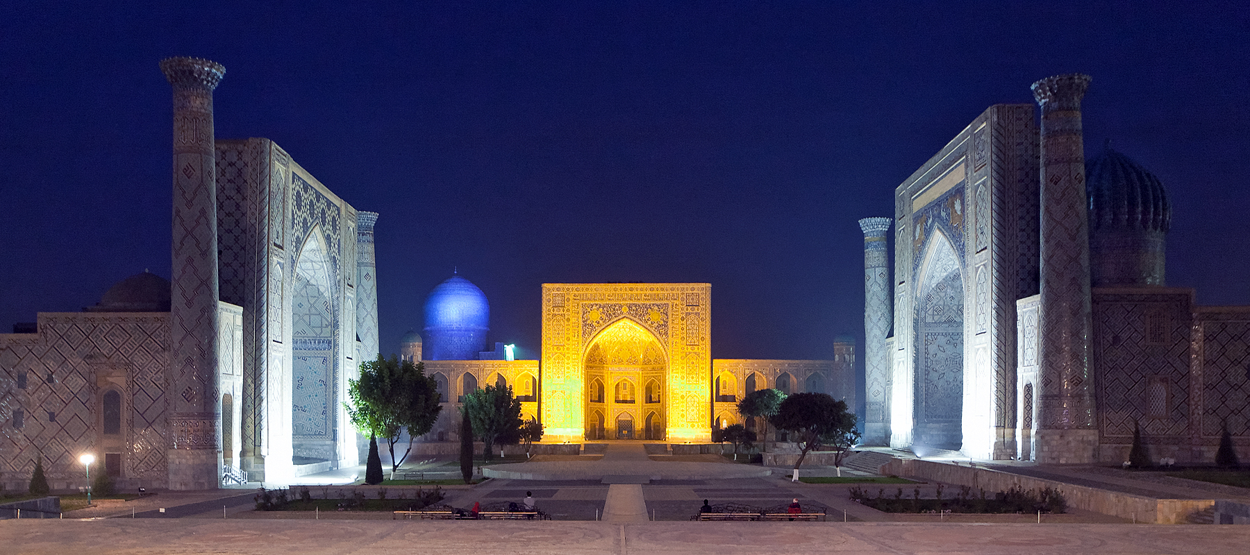 Registanplatz in Samarkand